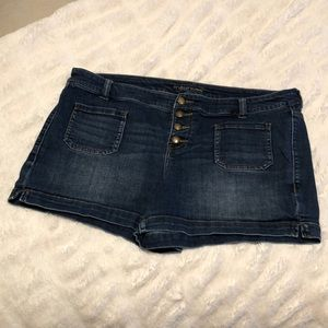 Maurice's women's Jean shorts